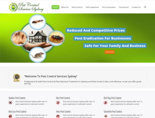 Pest Control Services In Sydney